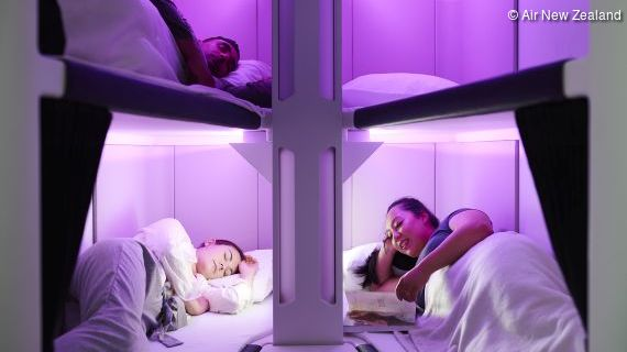Air New Zealand plant Schlafkapseln in der Economy Class